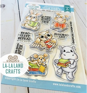 La-La Land Crafts Clear Stamps ONE MORE CHAPTER CL067