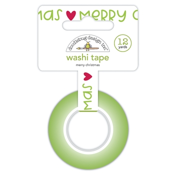 Doodlebug MERRY CHRISTMAS Washi Tape 6931