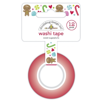 Doodlebug SWEET SUGARPLUMS Washi Tape 6930