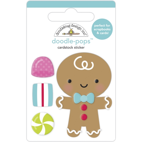 Doodlebug GOODY GOODY GUMDROPS Doodle Pops 3D Stickers 6965 Preview Image