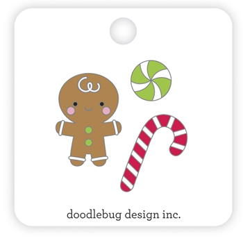 Doodlebug SUGARPLUMS Collectible Enamel Pins 6984