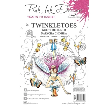 Pink Ink Designs TWINKLETOES A5 Clear Stamps pi065