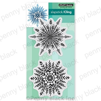 Penny Black Cling Stamps SNOWFALL 40 757
