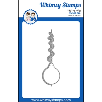 Whimsy Stamps ELEGANT ORNAMENT Dies WSD500