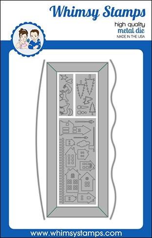 Whimsy Stamps SLIMLINE SCENIC COUNTRYSIDE Dies WSD502 Preview Image