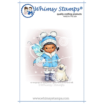 Whimsy Stamps FAIRY SWEET Cling Stamp C1367