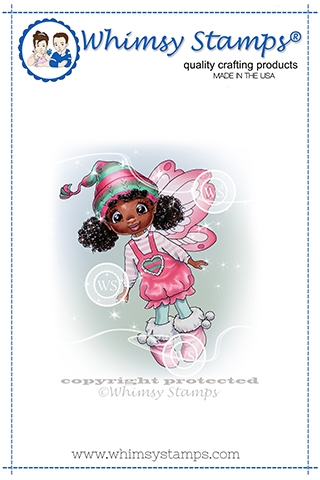 Whimsy Stamps FAIRY GRACE Cling Stamp C1368 Preview Image