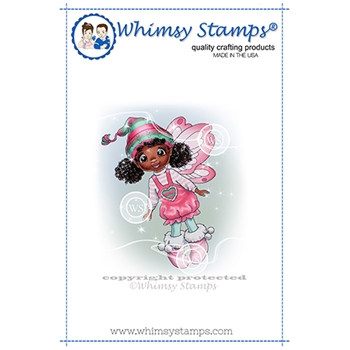 Whimsy Stamps FAIRY GRACE Cling Stamp C1368