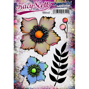 Paper Artsy ECLECTICA3 TRACY SCOTT 47 Cling Stamp ts047