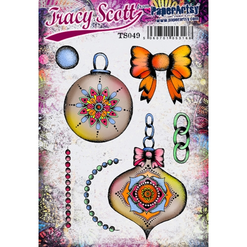 Paper Artsy ECLECTICA3 TRACY SCOTT 49 Cling Stamp ts049 Preview Image