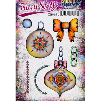 Paper Artsy ECLECTICA3 TRACY SCOTT 49 Cling Stamp ts049