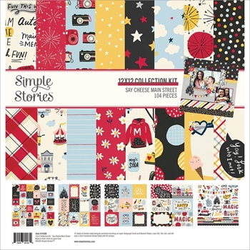 Simple Stories SAY CHEESE MAIN STREET 12 x 12 Collection Kit 14200