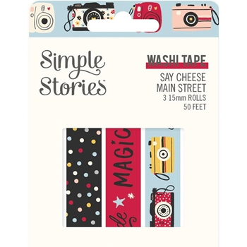 Simple Stories SAY CHEESE MAIN STREET Washi Tape 14224