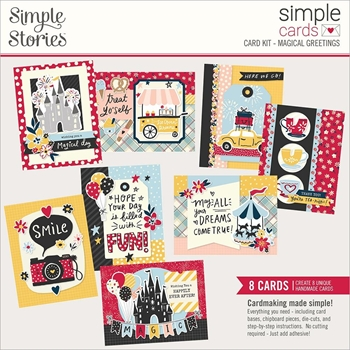 Simple Stories SAY CHEESE MAIN STREET Card Kit 14231