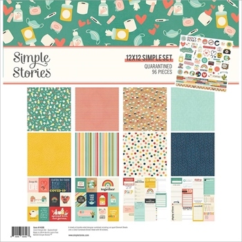 Simple Stories QUARANTINED 12 x 12 Collection Kit 14500