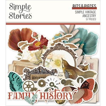 Simple Stories VINTAGE ANCESTRY Bits And Pieces 14121