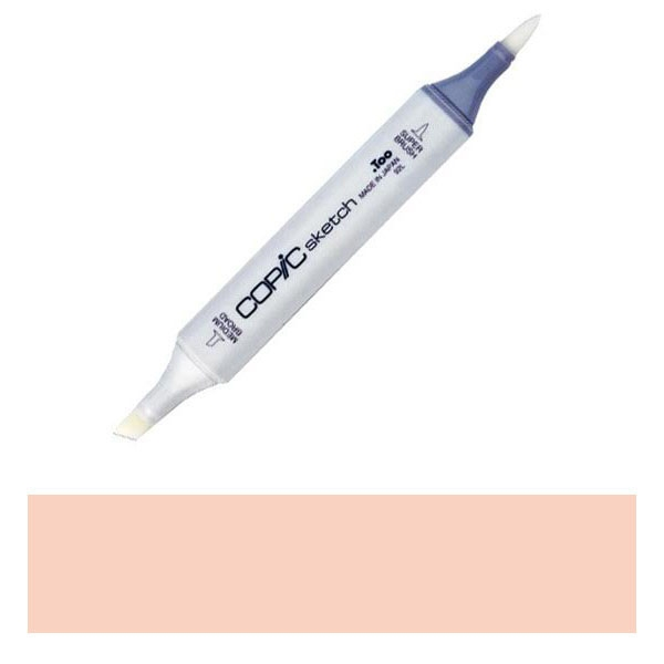 Copic Sketch Marker R12 LIGHT TEA ROSE Peachy Pink zoom image