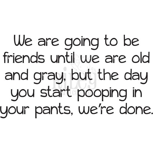 Riley And Company Funny Bones POOPING YOUR PANTS Cling Rubber Stamp RWD 860 Preview Image