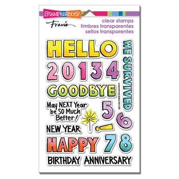 Stampendous Clear Stamps HELLO 2021 ssc1383