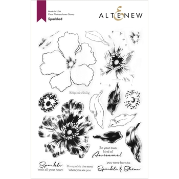 Altenew SPARKLED Clear Stamps ALT4600