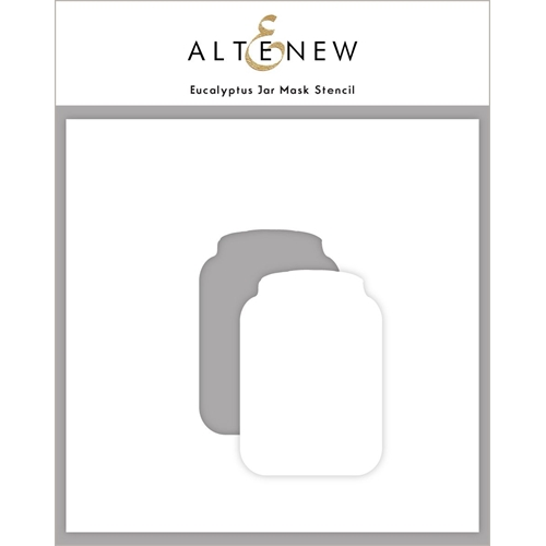 Altenew EUCALYPTUS JAR Mask Stencil ALT4590 Preview Image