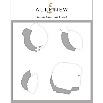 Altenew CARTOON ROSE Mask Stencil ALT4585