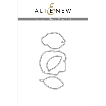 Altenew CARTOON ROSE Dies ALT4584