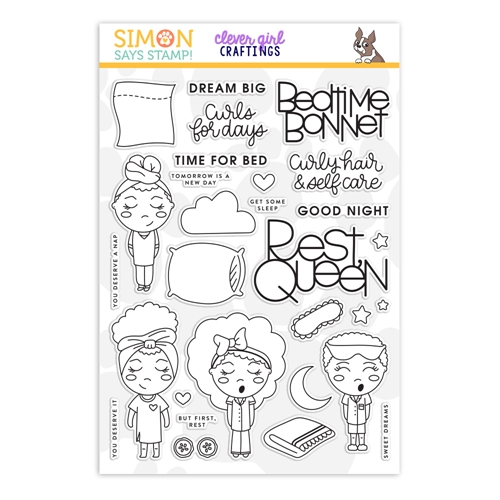 Simon Says Clear Stamps REST QUEEN sss202222c Holly Jolly Clever Girl Craftings Preview Image