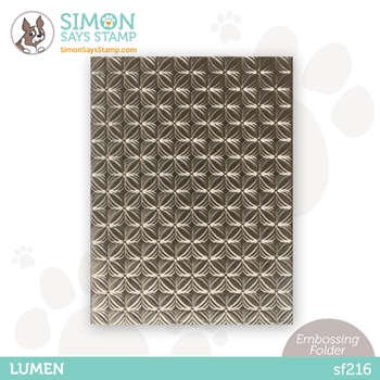 Simon Says Stamp Embossing Folder LUMEN sf216 Holly Jolly