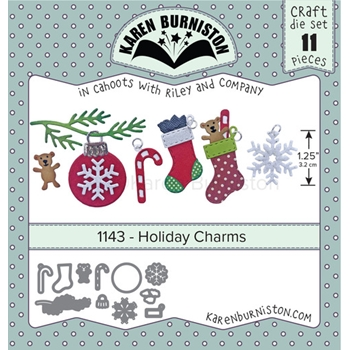 Karen Burniston HOLIDAY CHARMS Dies 1143
