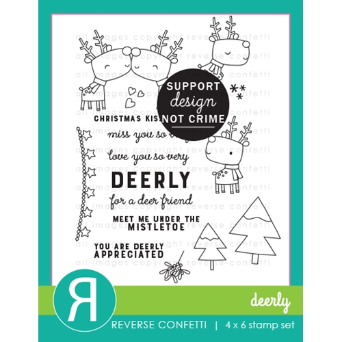 Reverse Confetti DEERLY Clear Stamps Preview Image