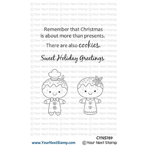 Your Next Stamp GINGERBREAD COOKIES Clear cyns789 Preview Image
