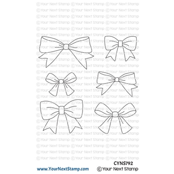 Your Next Stamp CUTE BOWS Clear cyns792
