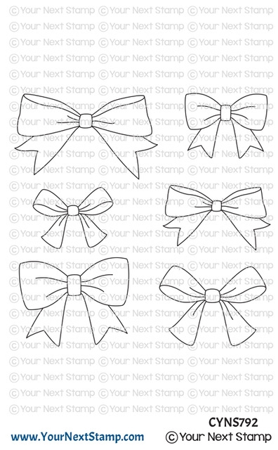 Your Next Stamp CUTE BOWS Clear cyns792 zoom image