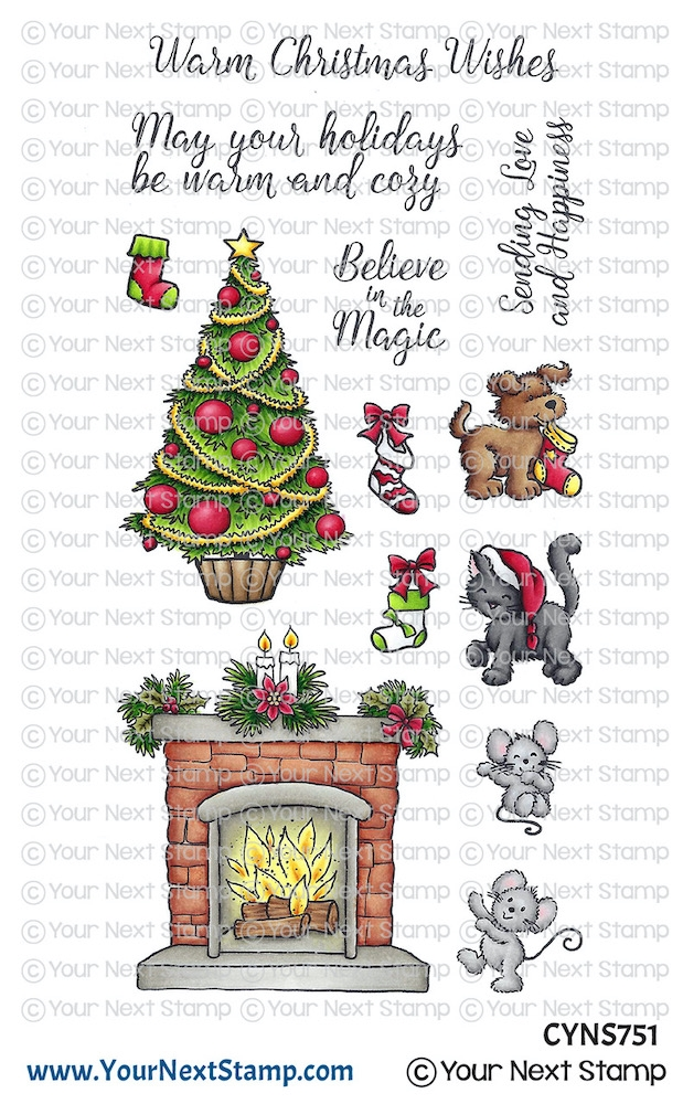 Your Next Stamp COZY CHRISTMAS Clear cyns751 zoom image