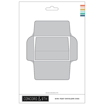 Concord & 9th MINI POST ENVELOPE Dies 11008