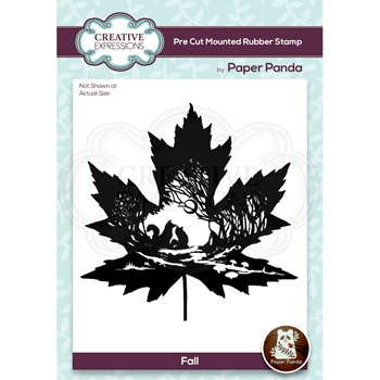 Creative Expressions FALL Cling Stamp cerpp003