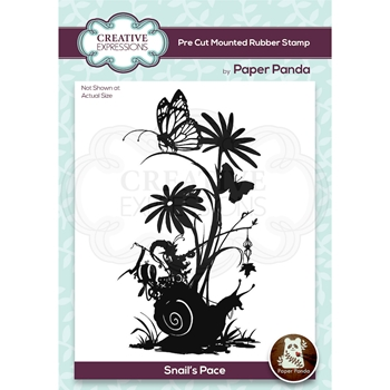 Creative Expressions SNAIL'S PACE Cling Stamp cerpp006