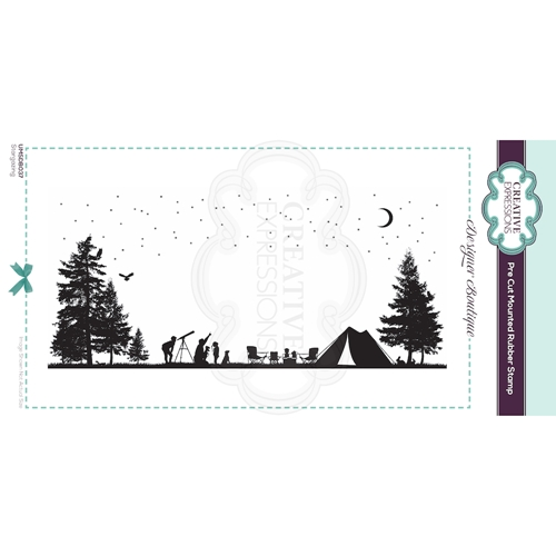 Creative Expressions STARGAZING Cling Stamp umsdb037 Preview Image