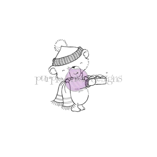 Purple Onion Designs CHESTNUT Cling Stamp pod1203 Preview Image