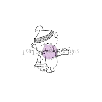 Purple Onion Designs CHESTNUT Cling Stamp pod1203