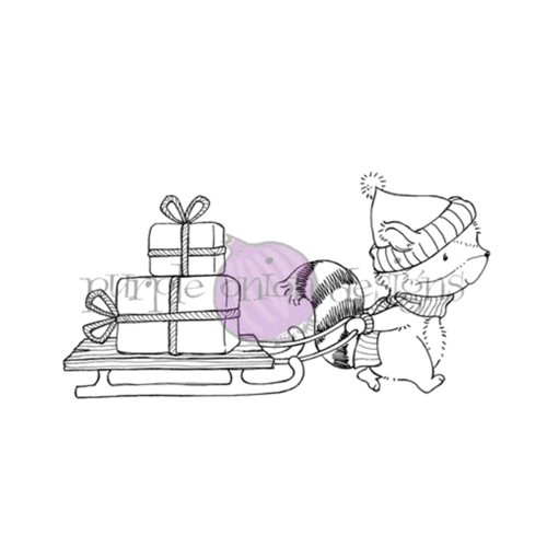 Purple Onion Designs FLANNEL Cling Stamp pod1200 Preview Image