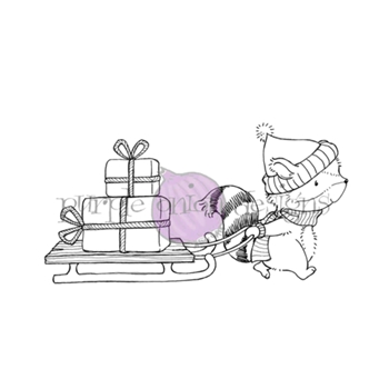 Purple Onion Designs FLANNEL Cling Stamp pod1200