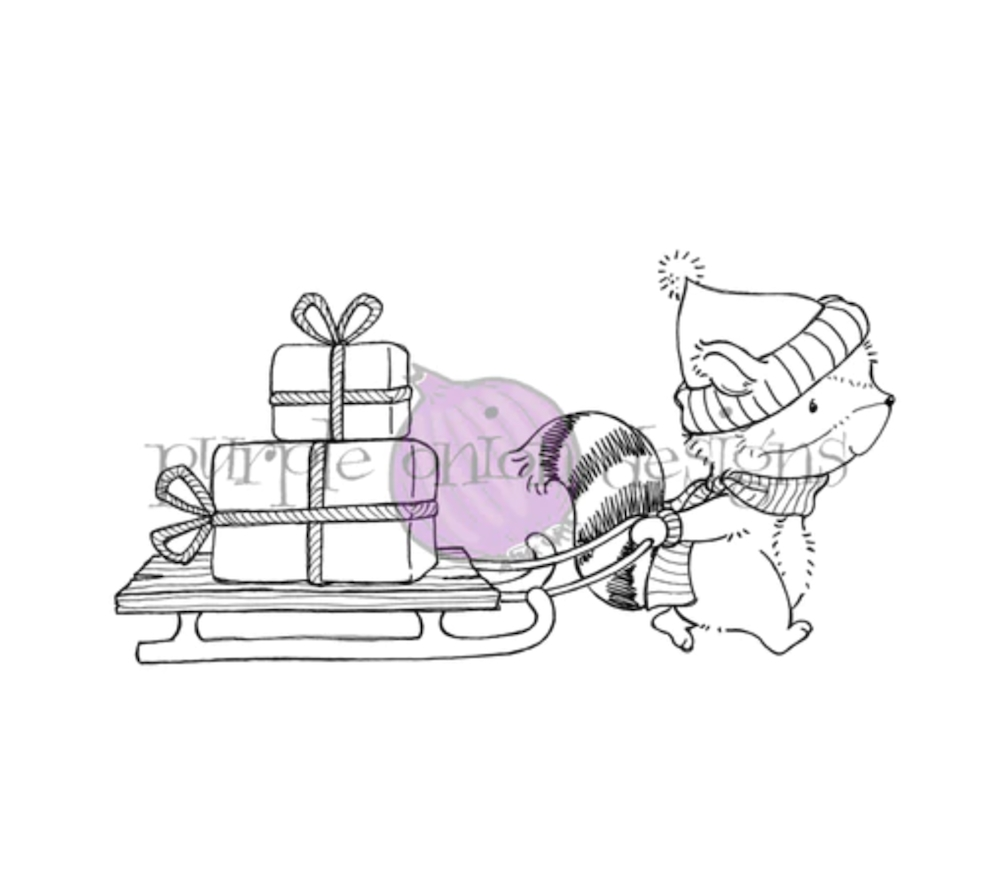 Purple Onion Designs FLANNEL Cling Stamp pod1200 zoom image