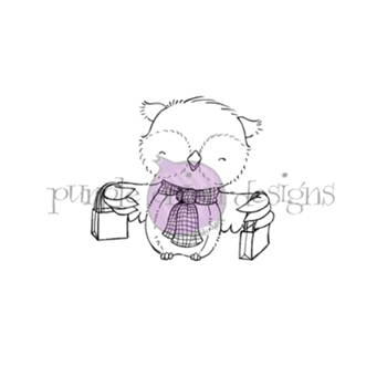 Purple Onion Designs HANK Cling Stamp pod1194