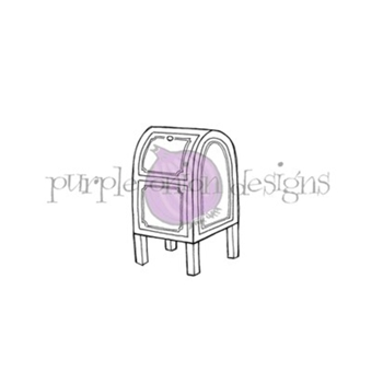 Purple Onion Designs MAILBOX Cling Stamp pod1205