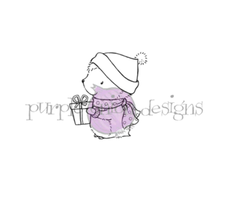 Purple Onion Designs TIMOTHY Cling Stamp pod1197 zoom image