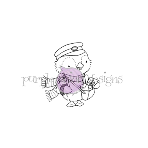 Purple Onion Designs WALLACE Cling Stamp pod1199 Preview Image