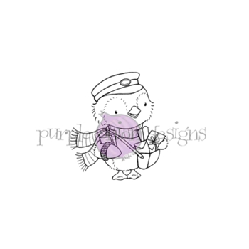 Purple Onion Designs WALLACE Cling Stamp pod1199