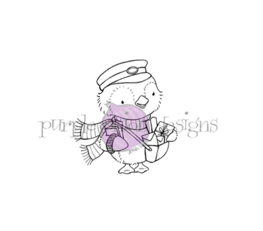 Purple Onion Designs WALLACE Cling Stamp pod1199 zoom image
